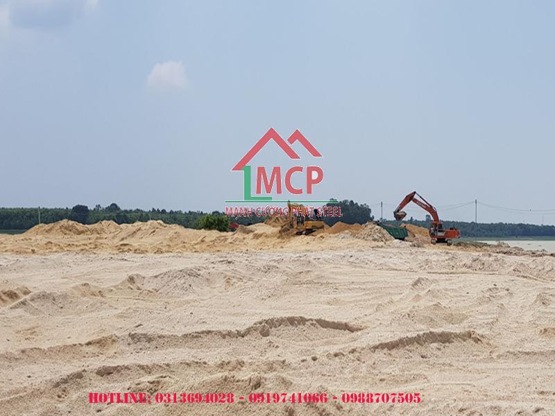 Quotation price for best leveled sand May 9 2020, Bảng báo giá cát san lấp tốt nhất 09 tháng 05 năm 2020